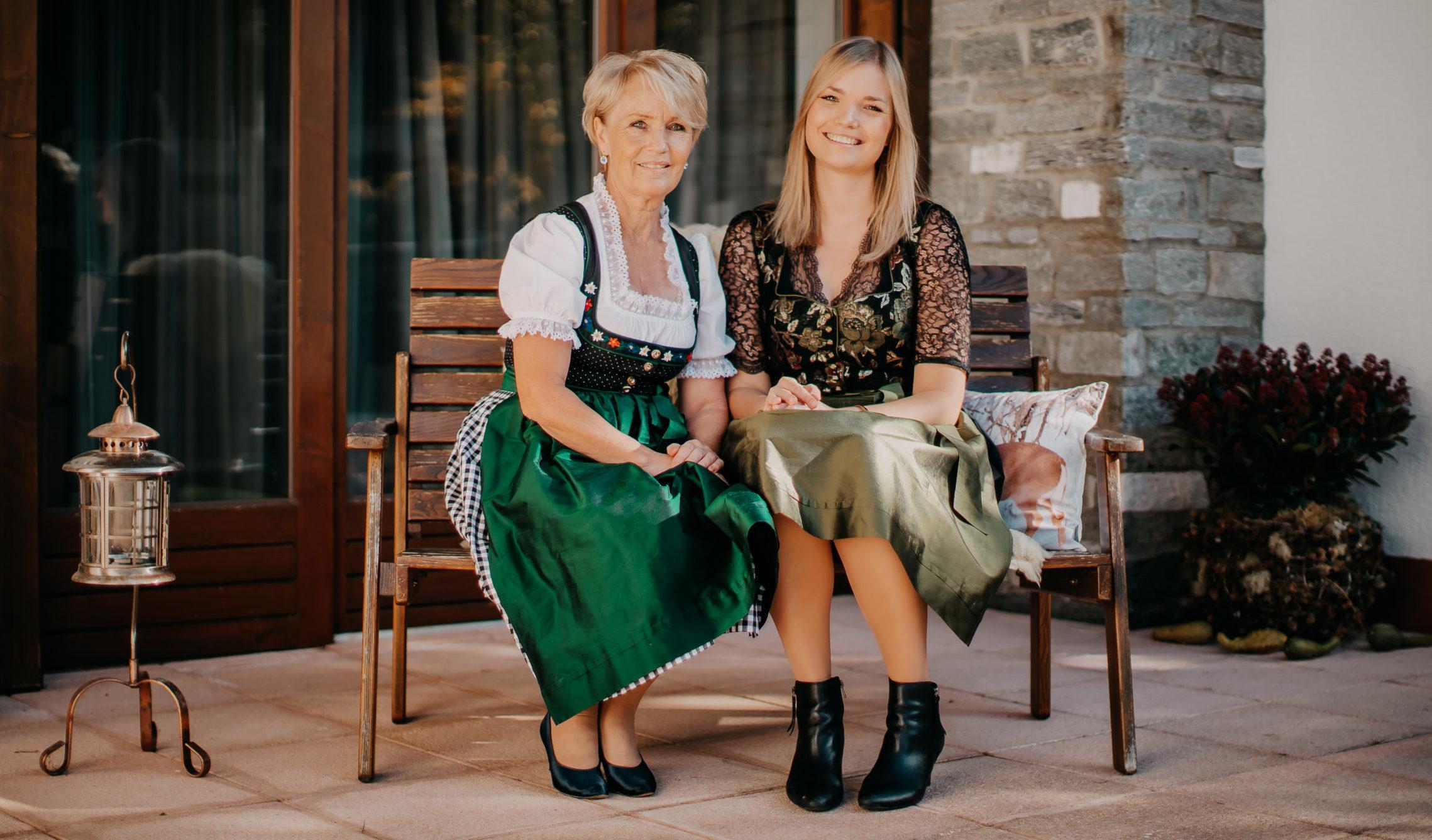 Gastgeberinnen – Traudi & Lisa